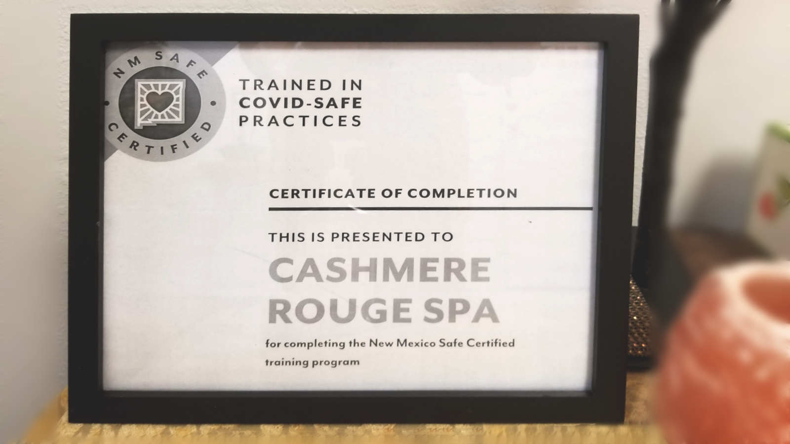 Covid Safe Certification